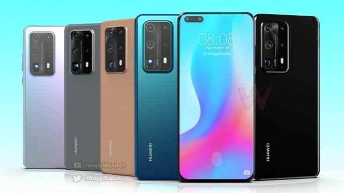 Новые рендеры смартфона Huawei P40 Pro