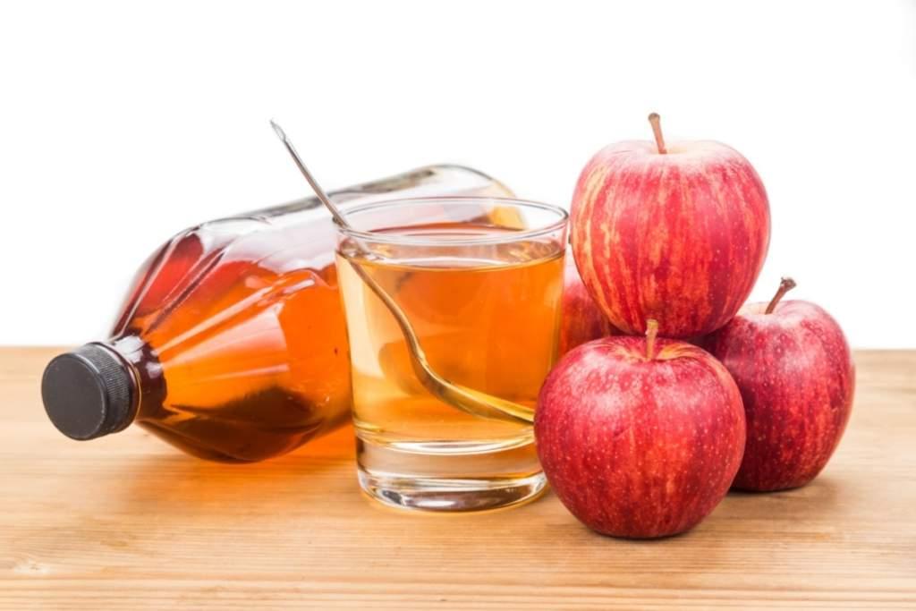 Лечение герпеса яблочным уксусом