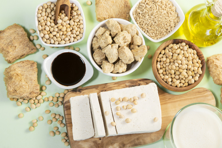 Говорят, что соевый белок снижает уровень холестерина