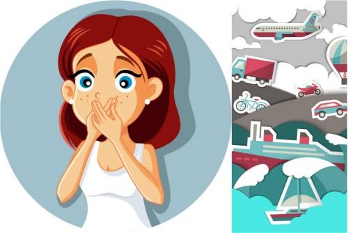 Кинетоз - как избежать укачивания?
