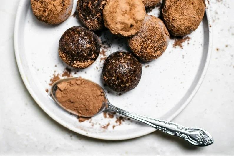 Шоколадные энергетические шарики