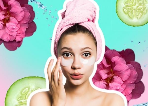 Эффективная маска против усталых и опухших глаз