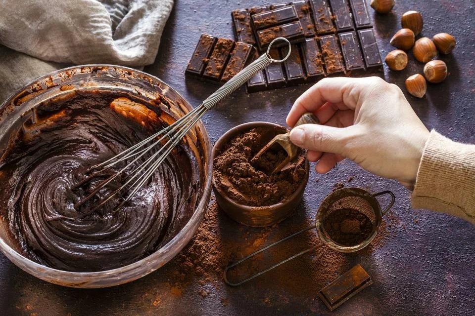 Как сделать шоколадный торт за одну минуту