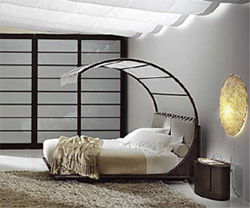Спальня: Удачное расположение кровати по фен-шуй.