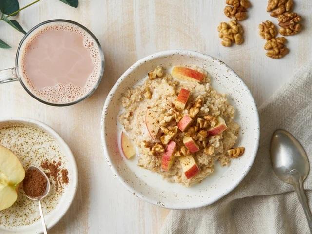 Здоровая пища на завтрак- залог хорошего пищеварения!