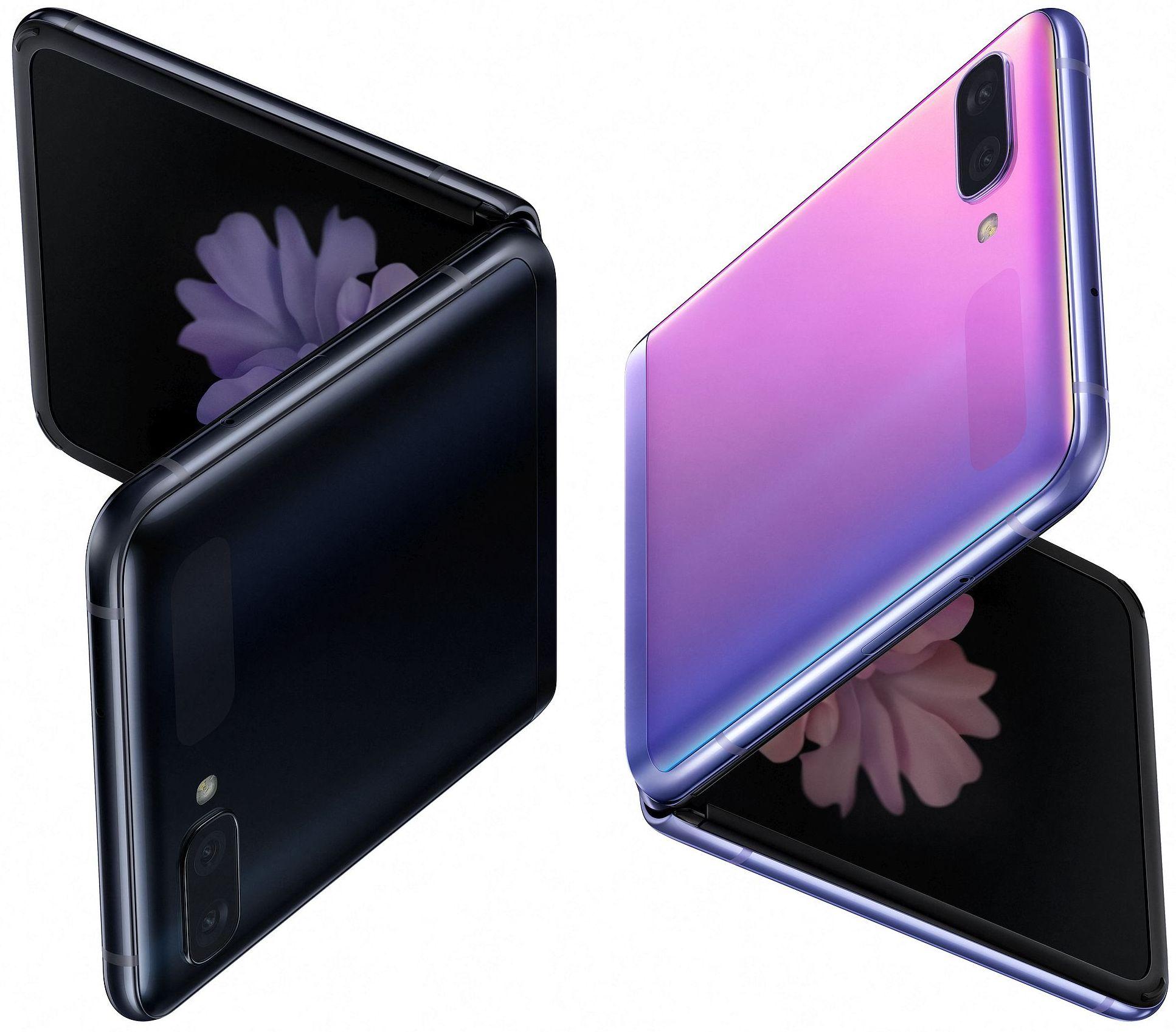 Первые официальные фотографии Samsung Galaxy Z Flip