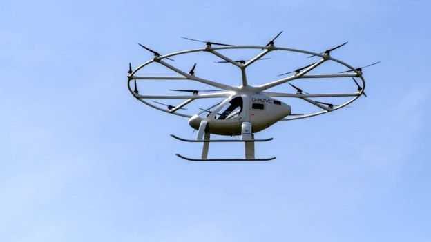 Летающие такси - это будущее городского воздушного пространства?
